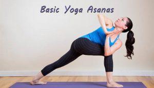 Basic Yoga Asanas