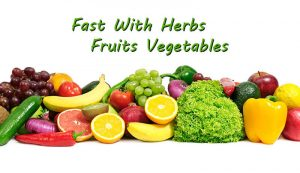Fast With Herbs Fruits Vegetables
