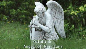 Yelahiah Angel of Warriors