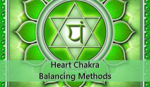 Heart Chakra Balancing Methods