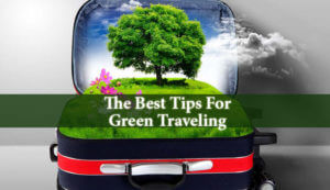 The Best Tips For Green Traveling