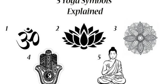 5 Yoga Symbols Explained - Om - Lotus Flower - Spiritual ...