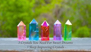 Sleep Improving Crystals