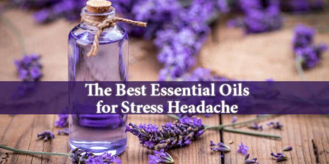 Essential Oils for Stress Headache