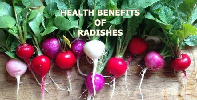health benefits of radishes