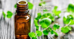 marjoram essential oil benefits