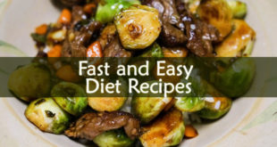 Fast and Easy Diet Recipes