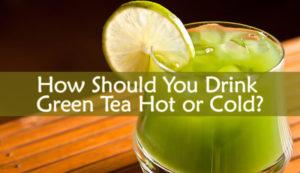 Green Tea Hot or Cold
