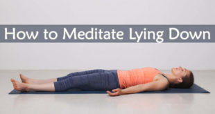 How to Meditate Lying Down