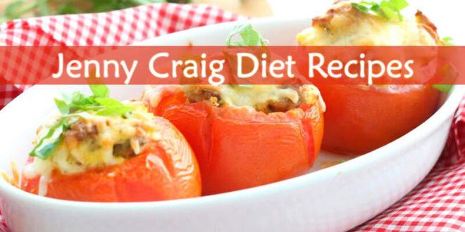 Jenny Craig Diet Recipes