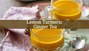Lemon Turmeric Ginger Tea