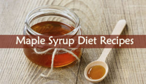 Maple Syrup Diet Recipes
