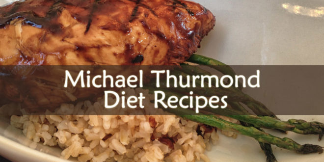 Michael Thurmond Diet Recipes