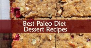 Paleo Diet Dessert Recipes