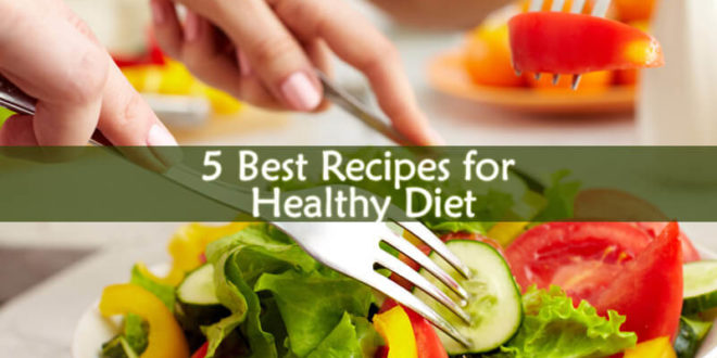 Recipes for Healthy Diet