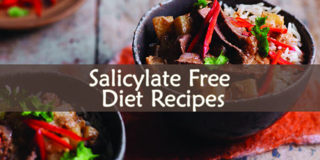 Salicylate Free Diet Recipes