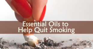 Essential Oils to Help Quit Smoking