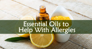 Essential Oils to Help With Allergies