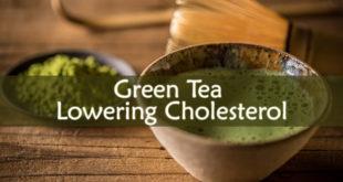 Green Tea Lowering Cholesterol