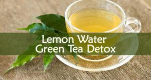 Lemon Water Green Tea Detox