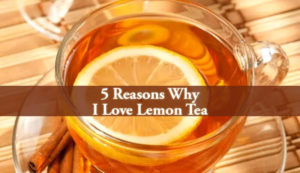I Love Lemon Tea