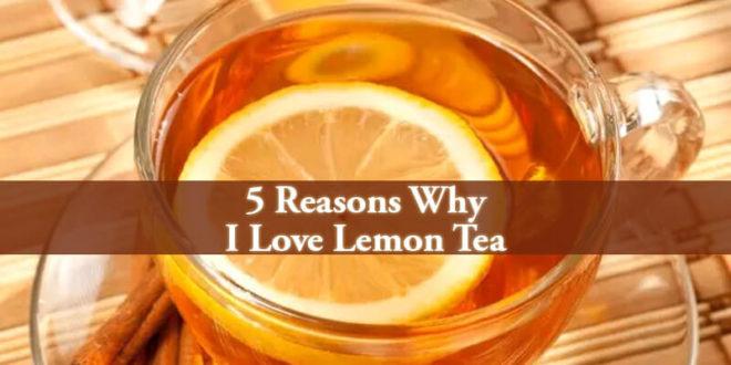 I Love Lemon Tea