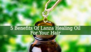 Lanza Healing Oil