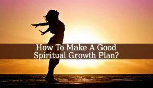 Spiritual Growth Plan