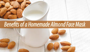 almond face mask