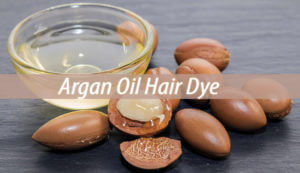 argan oil hair dye