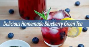 blueberry green tea