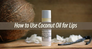 coconut oil for lips