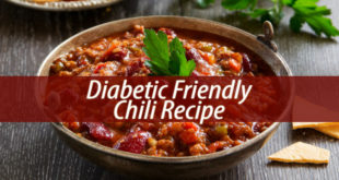 Diabetic friendly chili recipe