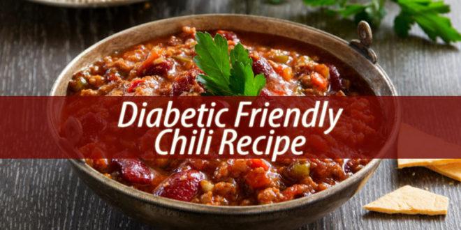 Diabetic friendly chili recipe