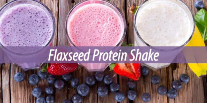 Flaxseed Protein Shake