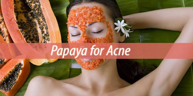Papaya for Acne