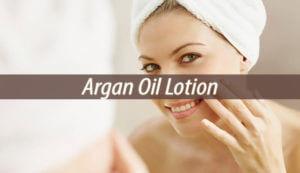 argan oil lotion