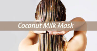 coconut milk mask