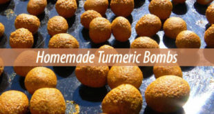 homemade turmeric bombs