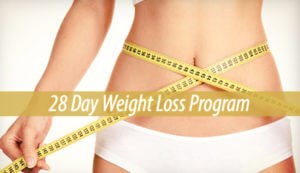28 Day Weight Loss Program