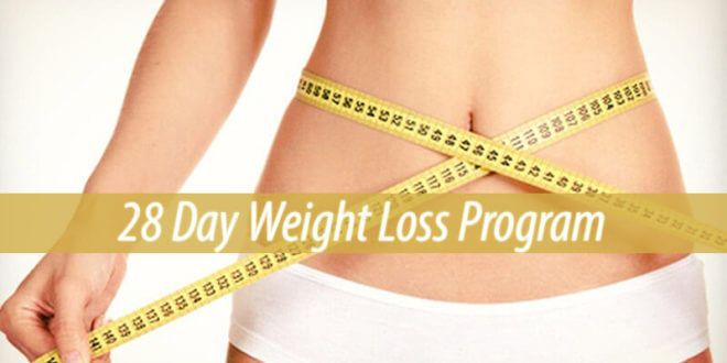 28 Day Weight Loss Program