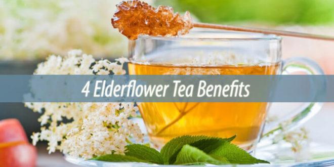 4 Elderflower Tea Benefits