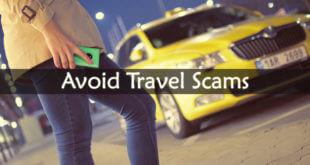 Avoid Travel Scams