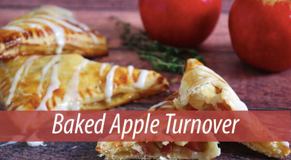 Baked Apple Turnover