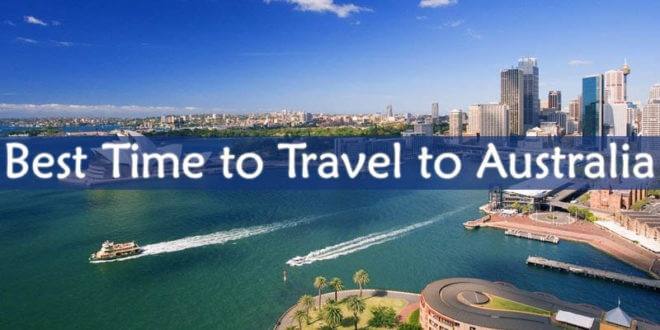 Best Time to Travel to Australia