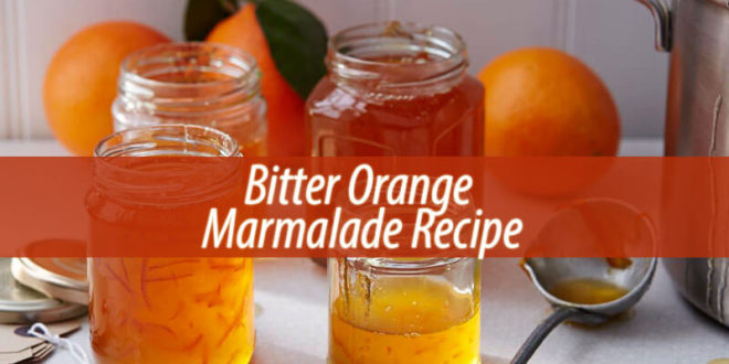 Bitter Orange Marmalade Recipe
