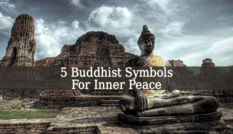 the 5 buddhist symbols for inner peace spiritual experience