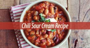 Chili Sour Cream Recipe