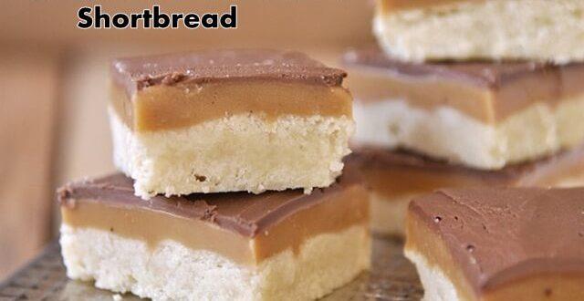 Chocolate Caramel Shortbread