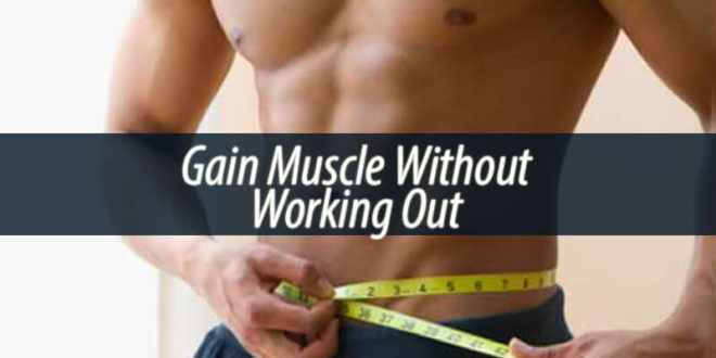 Gain Muscle Without Working Out